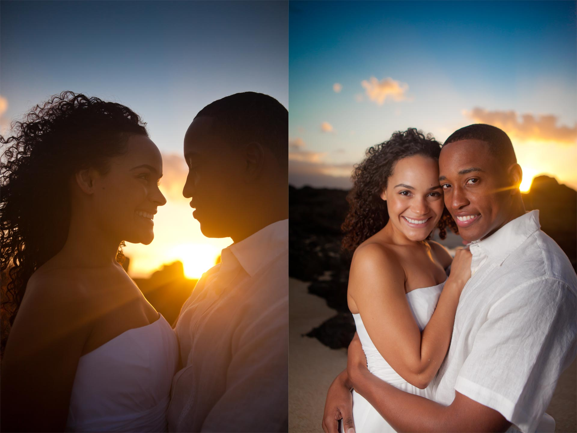 Sunset Beach wedding on Oahu's North Shore